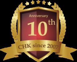 CHK_10th_logo