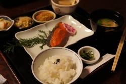 焼き鮭ランチ